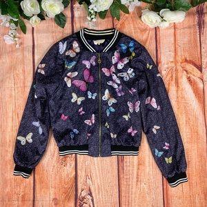 Hannah Banana Girls Butterfly Full Zip Jacket 1614